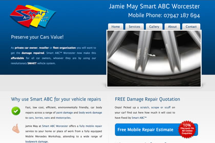 Worcester Website Design - Smart ABC Worcester